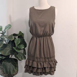 Jodi Kristopher Ruffle Sleeveless Dress
